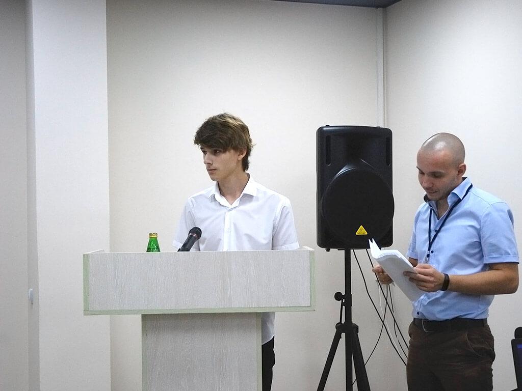 Участники проекта «Наставник» А. Платонов и Н.Коннов