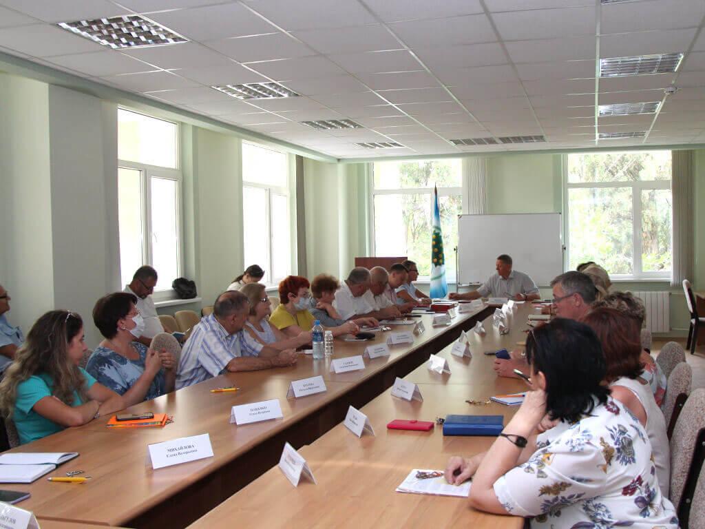 Состоялось очередное заседание Объединенного ученого совета ФИЦ СНЦ РАН
