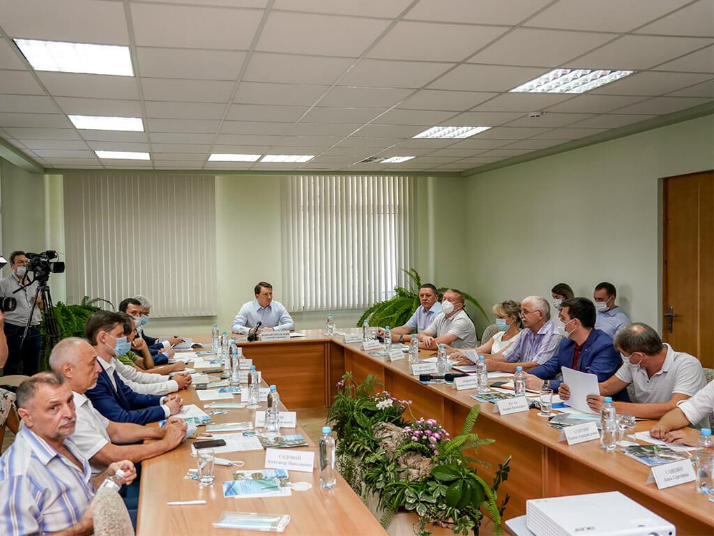 На базе Субтропического научного центра РАН прошло выездное заседание экологического совета при главе города Сочи