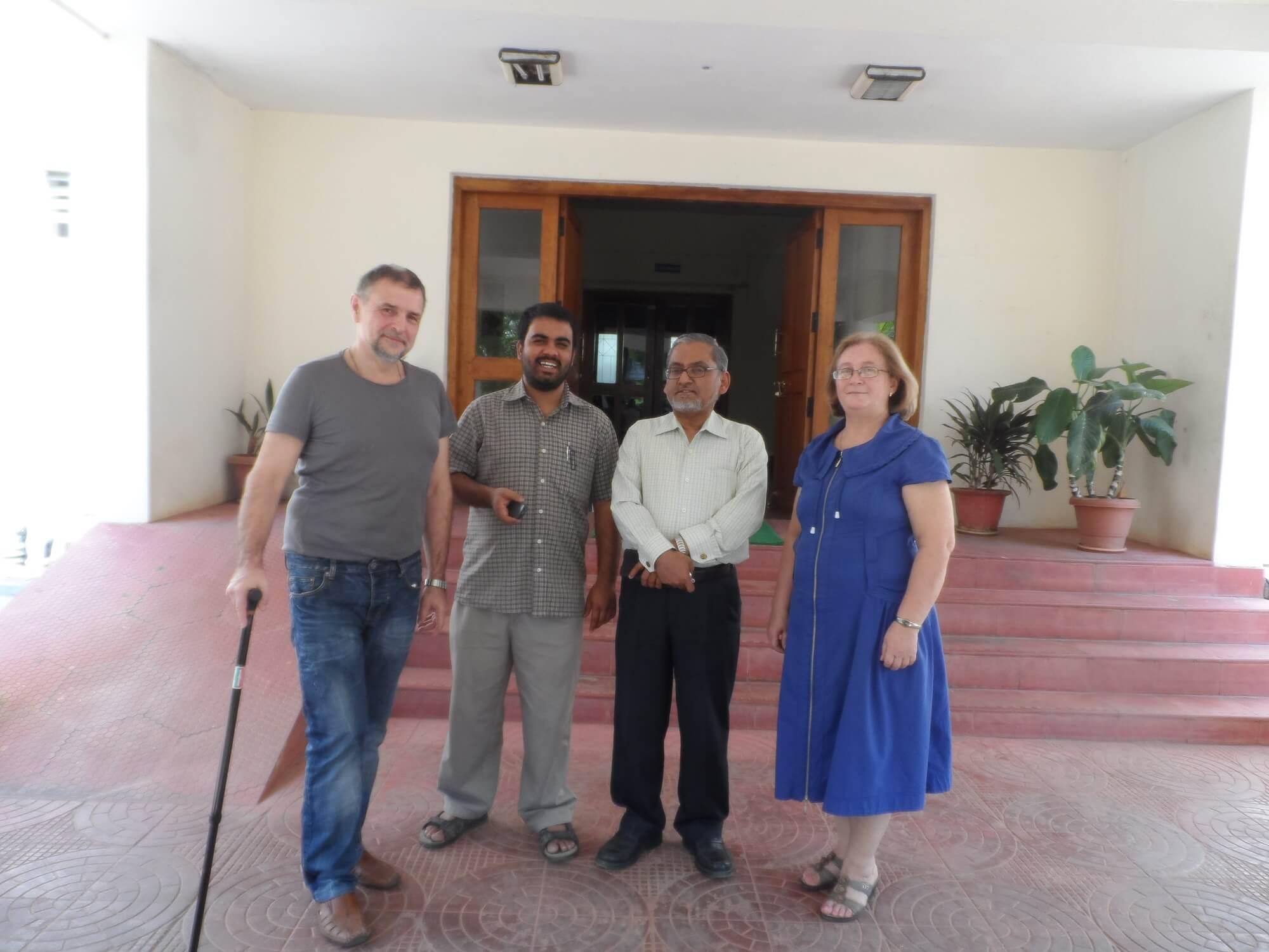 Белозёрова М.В., Садовой А.Н., профессор департамента антропологии Хайдарабадского университета (Индия) Шива Проссад