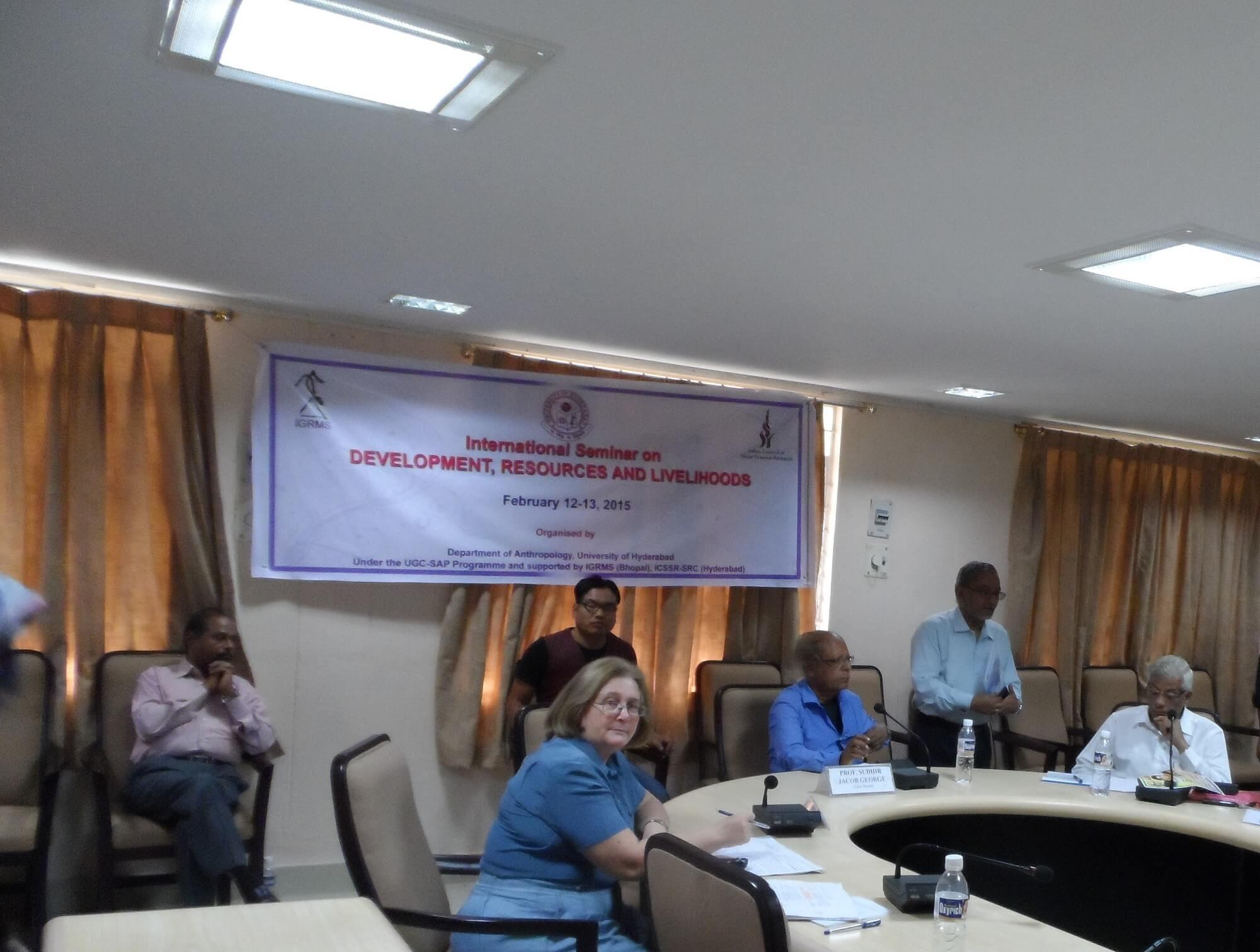 Белозёрова М. В. Участник Международной научной конференции «Development, Resources and Livelihoods: International Seminar. Abstracts». – Hyderabad (India): University of Hyderabad, Department of Anthropology, February 12-13, 2015