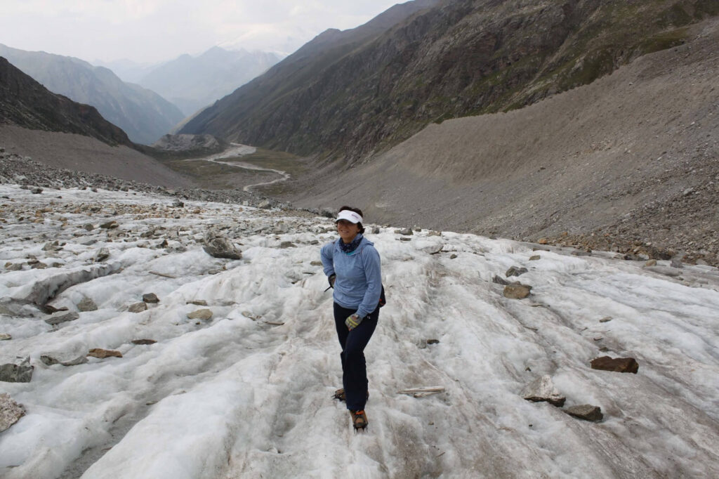 Е.А. Рыбак ледник Джанкуат (Центральныи Кавказ)