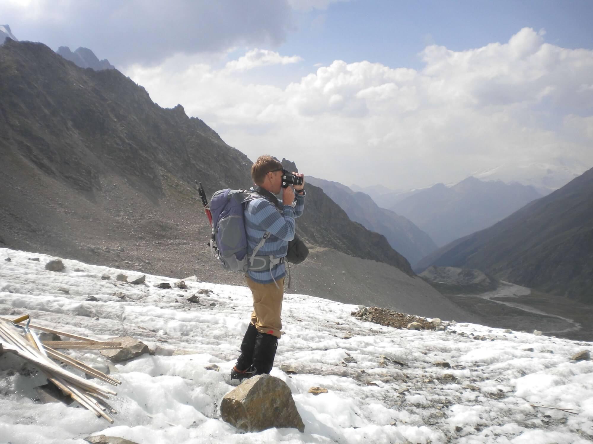 О.О. Рыбак ледник Джанкуат (Центральныи Кавказ)