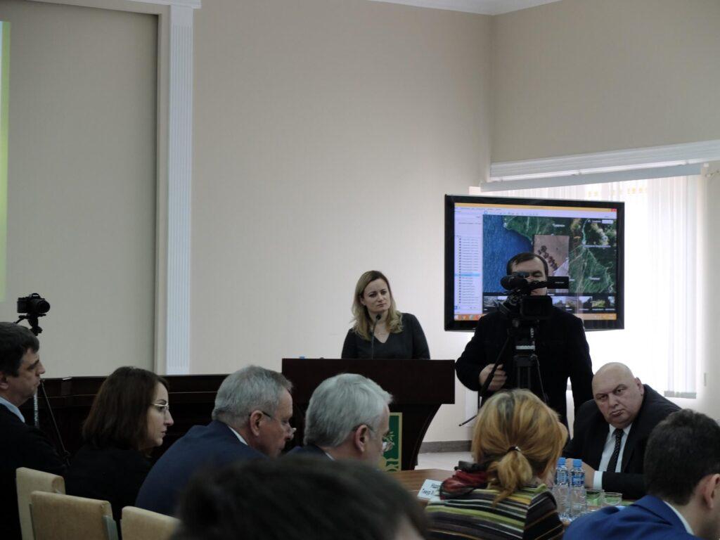 Выступление Н.Н. Карпун на координационном совещании, Абхазия, Сухум, 2018