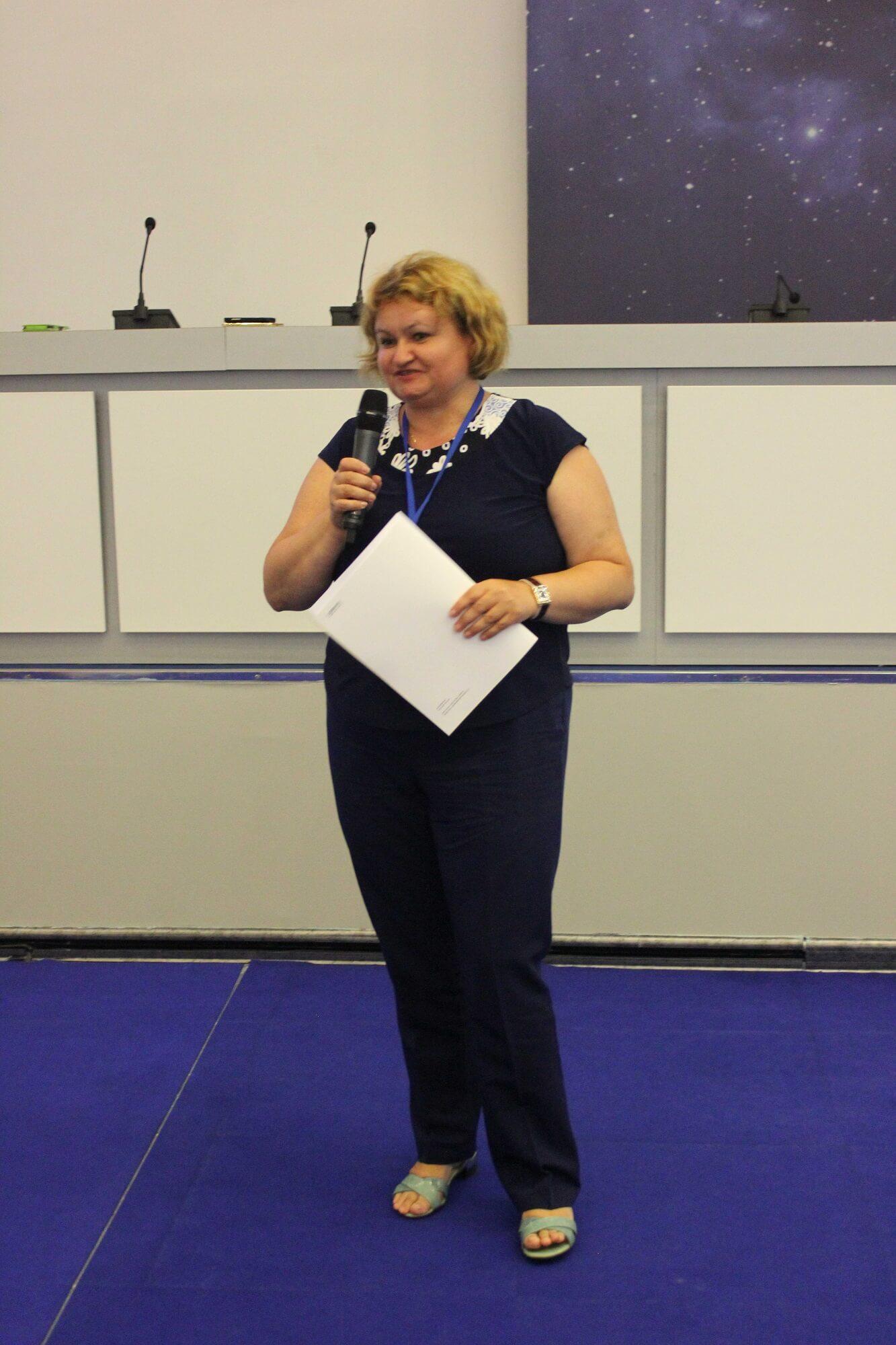 На конкурсе школьных работ в Сириусе (Малюкова Л.С.)