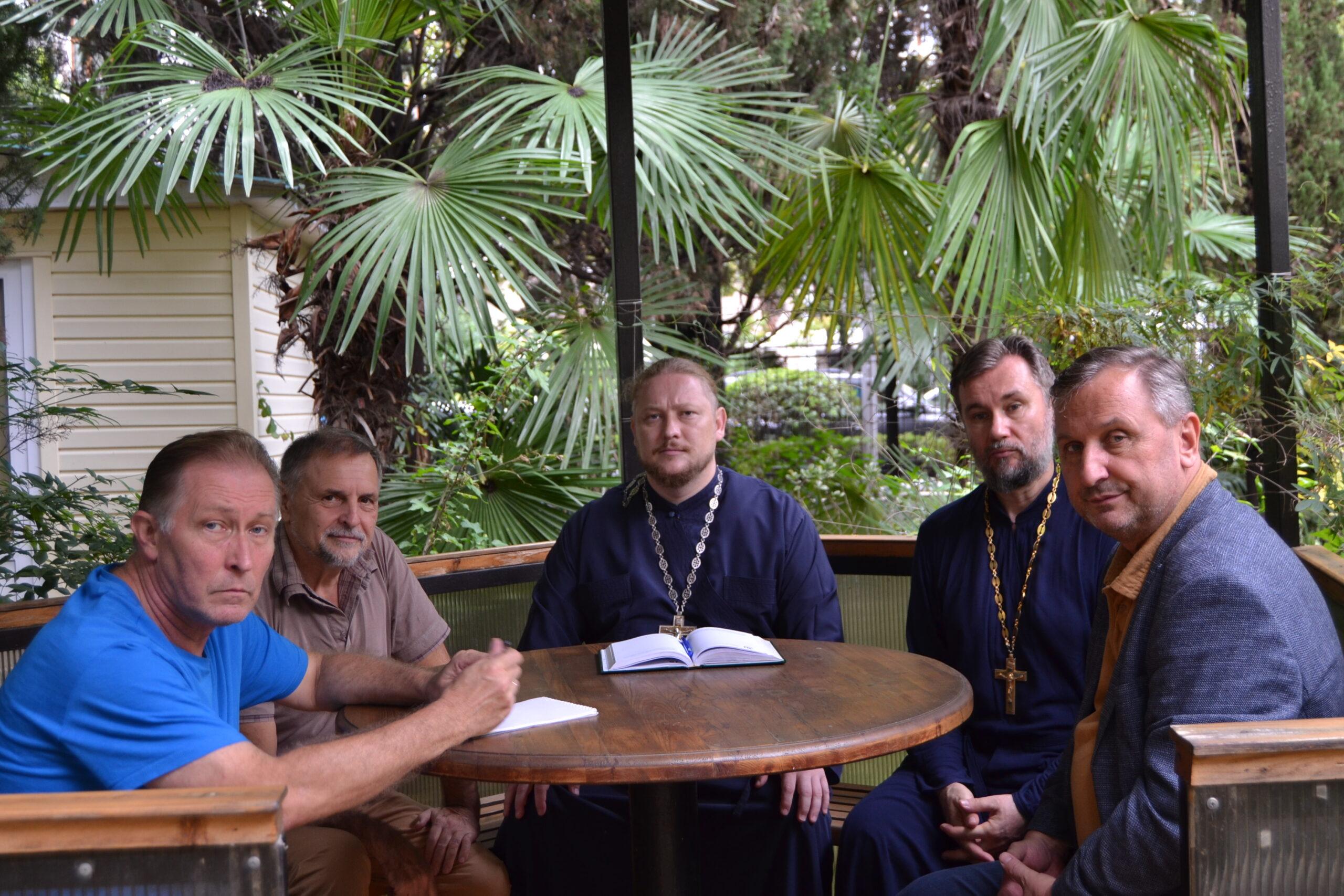 Read more about the article В Институте пространственного развития регионов прошла встреча с представителями Сочинской епархии